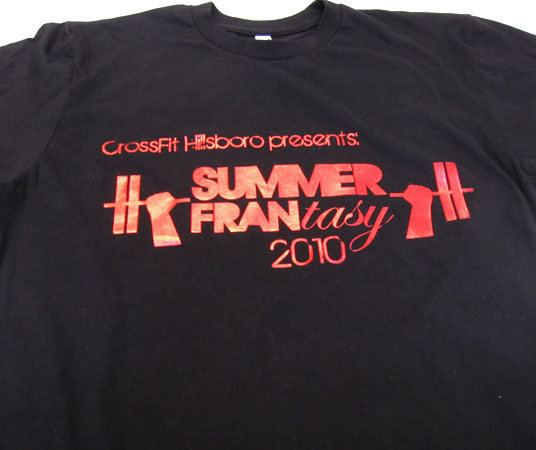 Our porftolio alentum graphics for Local t shirt printing company